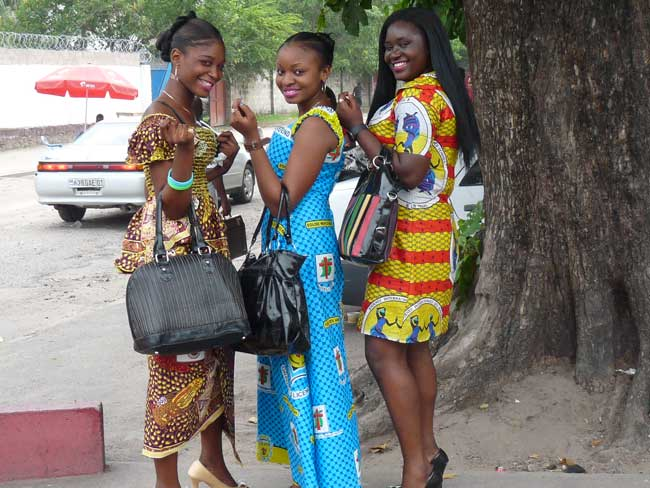 Rencontre fille a kinshasa