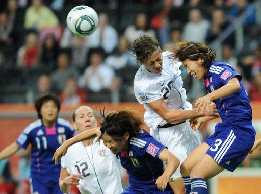 Pendant la finale Japon/États-Unis de la Coupe du monde 2011 de football féminin - photo AFP