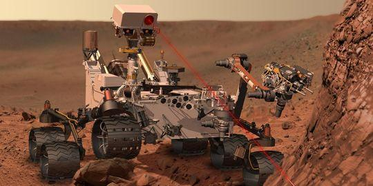 Le robot Curiosity / Photo NASA