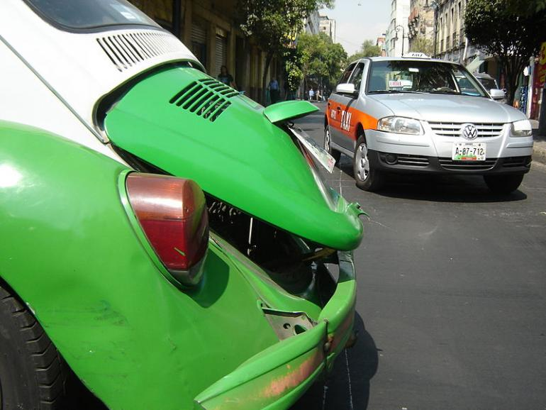 Taxis à Mexico - Wikicommons