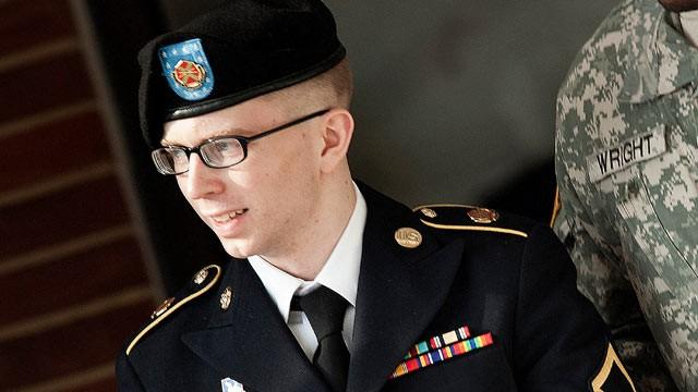 Bradley Manning / Photo AFP