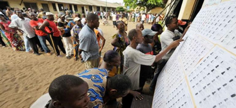 Elections au Togo en 2010 / photo AFP