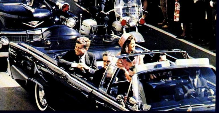 Le président américain John Fitzgerald Kennedy qui sera assassiné le 22 novembre 1963 à Dallas / Photo DR