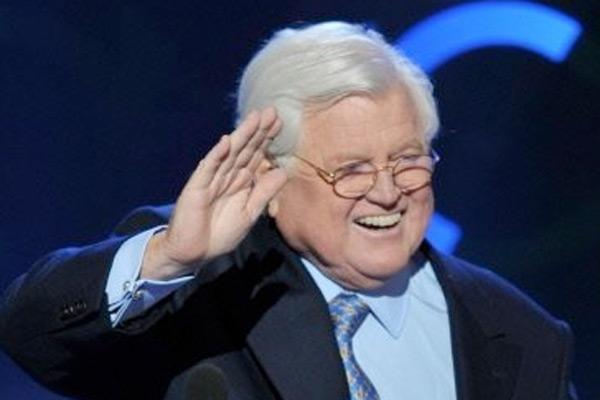 Ted Kennedy le 25 août 2008 à Denver