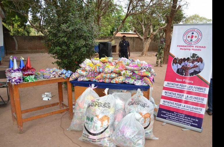 "<a href=""https://www.facebook.com/tchad.helpinghands/"">Fondation Tchad Helping Hands</a>."