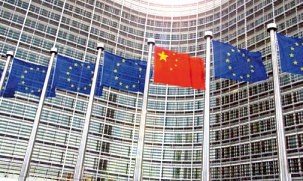 La Chine et l'Europe, une relation commerciale complexe (photo AFP)