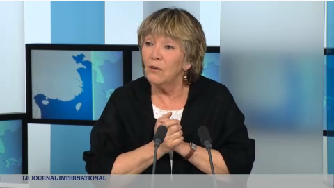 Simone Susskind lors de son interview sur TV5MONDE