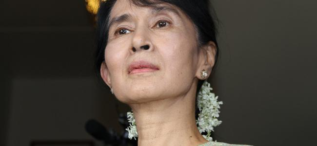 Aung San Suu Kyi (Photo: Kjetil Elsebutangen, UD/Flickr (Creative commons BY-ND 2.0))