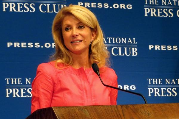 Wendy Davis en 2010 - (Photo : Flickr / runneralan2004)