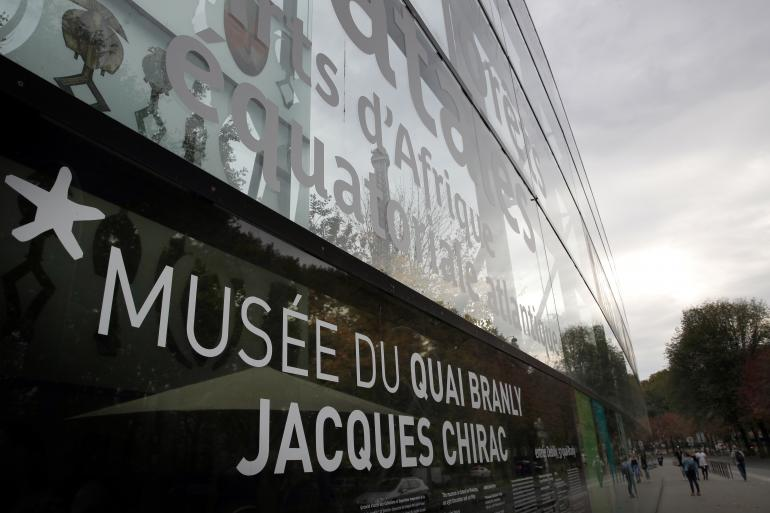 Musée du Quai Branly Jacques Chirac (photo d'illustration) 18 octobre 2017