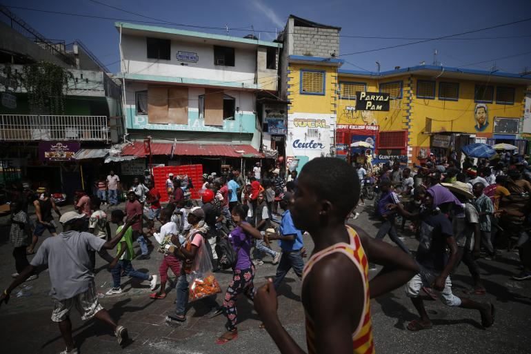 Port-au-Prince, le 9 octobre 2019