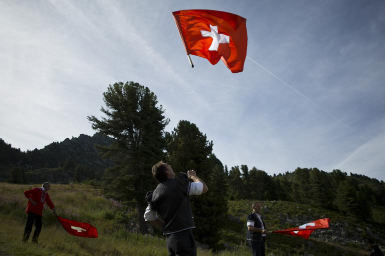 Canton du Valais, Suisse, juillet 2015 (AP Photo/David Azia)