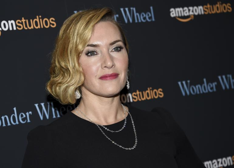 "L'actrice Kate Winslet assiste à une projection spéciale de ""Wonder Wheel"", organisée par Amazon Studios, au Musée d'Art Moderne le 14 novembre 2017 à New York."