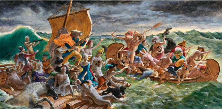 "<em>""Miss Chief's Wet Dream""</em> de Kent Monkman au Centre Culturel Canadien Paris"