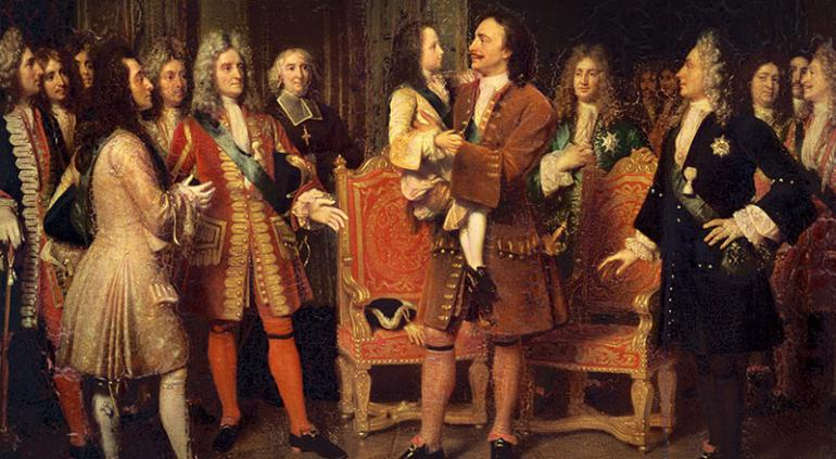 Pierre le Grand et Louis XV