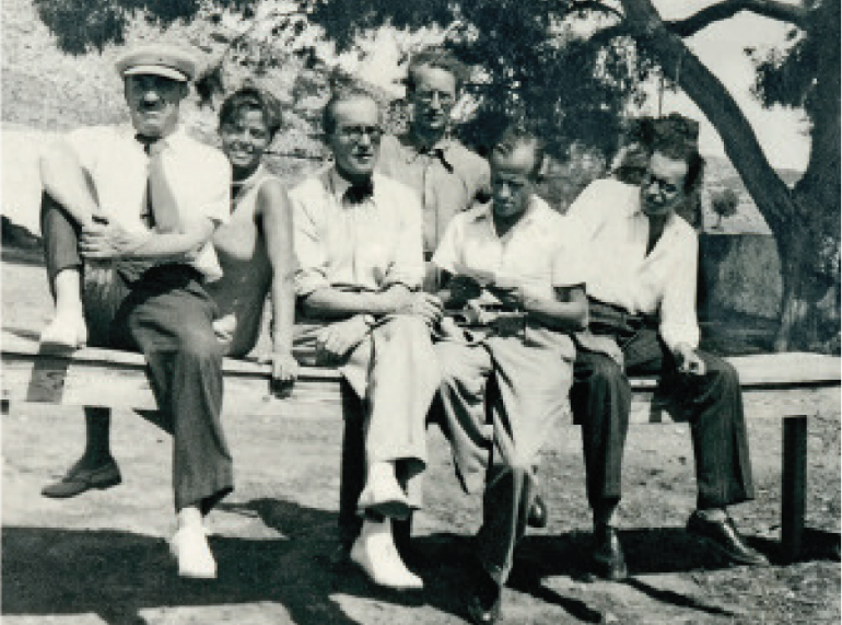 Fernand Léger, Charlotte Perriand, Le Corbusier, Albert Jeanneret, Pierre Jeanneret,<br />
