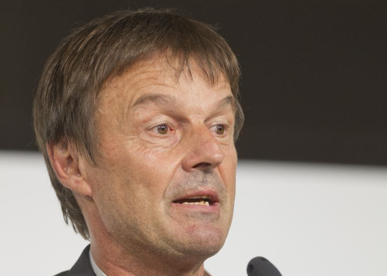 Nicolas Hulot en juillet 2015.<br />