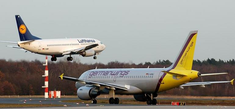 Germanwings, filiale du groupe Lufthansa