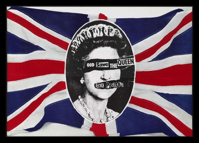 L'affiche du disque God Save the Queen