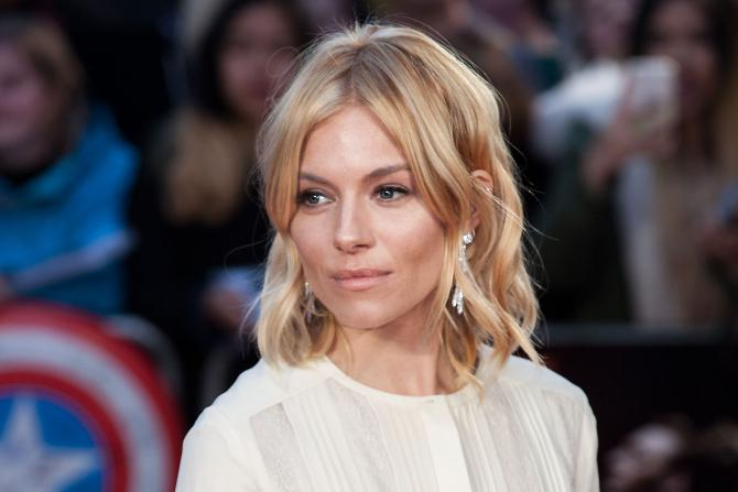 Sienna Miller, le 9 octobre 2015, au London Film Festival