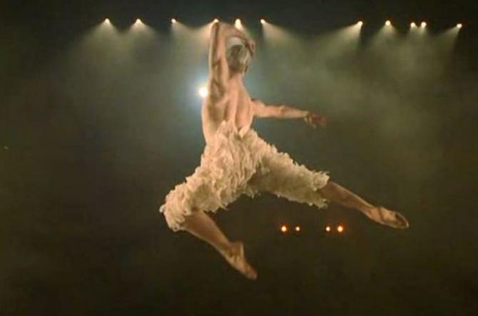 Le danseur Adam Cooper dans le film britannique <em>Billy Elliot,</em> 2000.
