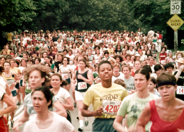 "Image extraite du documentaire ""Free to run""."