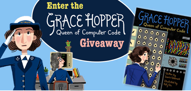L'un des ouvrages proposé par The Mighty Girl  : Grace Hopper, reine du code informatique