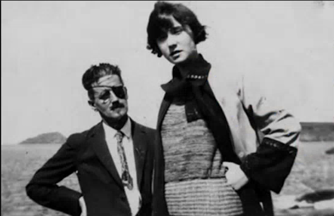 James Joyce et Nora Barnacle, en 1909.