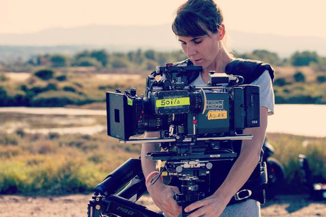 Fanny Coustenoble opératrice steadicam