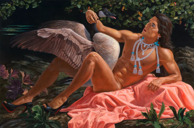 """The Affair"" par Kent Monkman"
