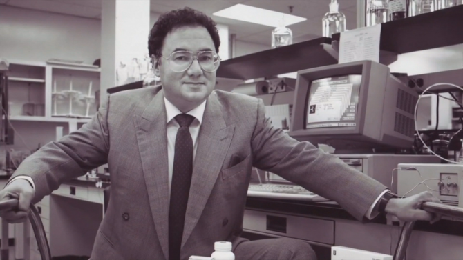 Barry Sherman a fondé son laboratoire Apotex en 1974.