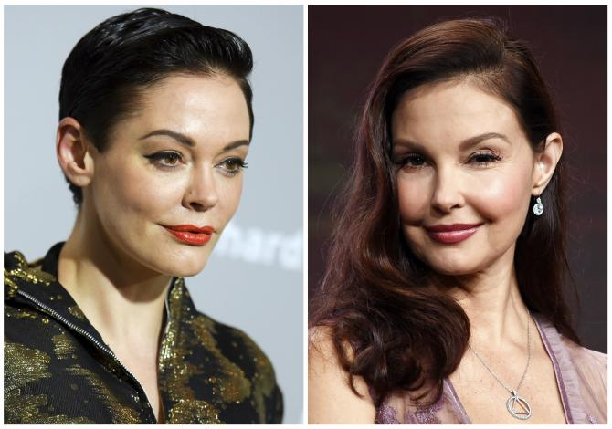 Rose McGowan et Ashley Judd