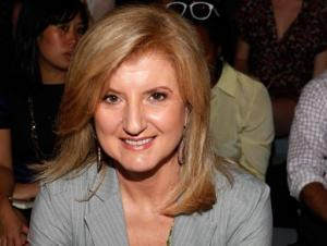 Arianna Huffington, la présidente et rédactrice en chef du Huffington Post Media group, le 14 septembre 2011 à New York (©AFP)