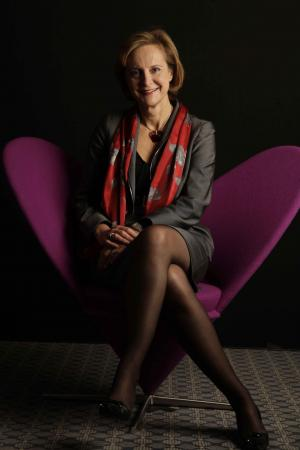 Dominique Reiniche, la patronne de Coca Cola pour l'Europe. Photo : Women's forum.