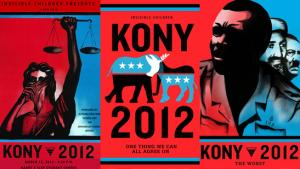 "Affiche Kony 2012 pouvant servir à un ""cover the night"""