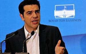 Alexis Tsipras, leader de la gauche radicale (photo AFP)