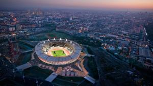 Le stade olympique de Londres dont la reconversion reste encore inconnue / Photo AFP