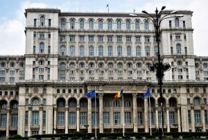 Bucarest : le Parlement roumain