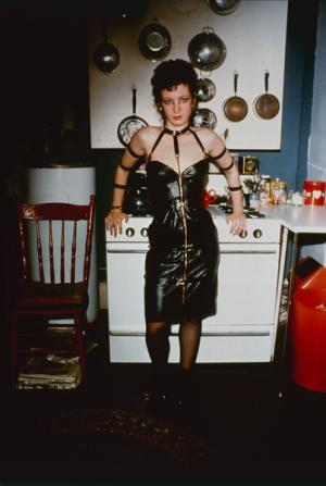 Nan Goldin : Nan as a domintatrix, Cambridge,MA (1977/199)