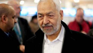 Le chef d'Ennahda, Rached Ghannouchi (Photo AFP)