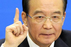 Wen Jiabao, ancien Premier ministre  / Photo AFP