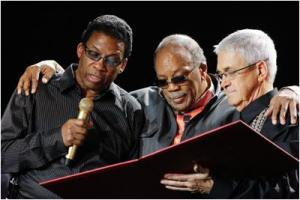 Herbie Hancock, Quincy Jones et Claude Nobs