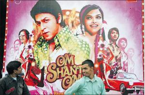 Affiche de film bollywoodien traditionnel /photo AFP
