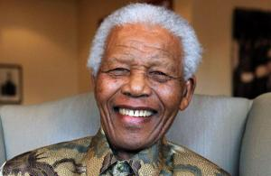 Nelson Mandela / Photo AFP