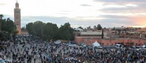 Place Jemaa el Fnaa /Photo AFP