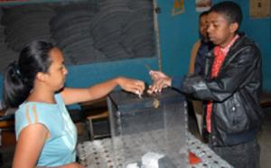 Vote à Madagascar (archive)