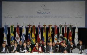 Un sommet du Mercosur en 2012 / Photo AFP