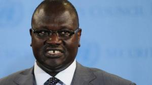 Riek Machar / Photo AFP