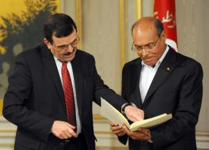 Le Premier ministre tunisien Ali Larayedh remet sa démission / Photo AFP