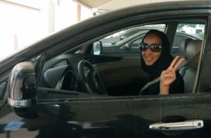Une conductrice en Arabie saoudite / Photo AFP